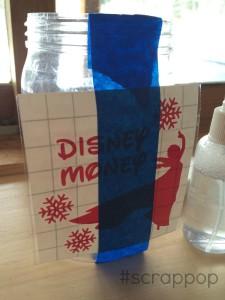 Disney Money Savings Jar Amp The Wet Method Of Vinyl Application