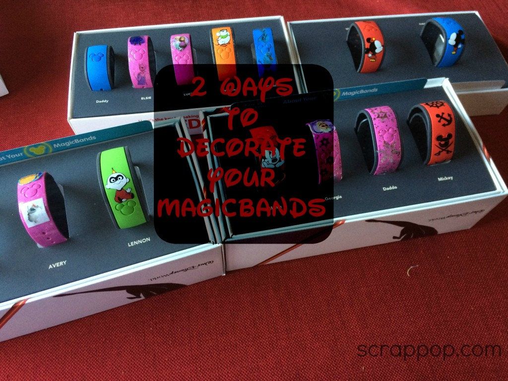 Mickey Monday It S Time To Decorate Your Magic Bands